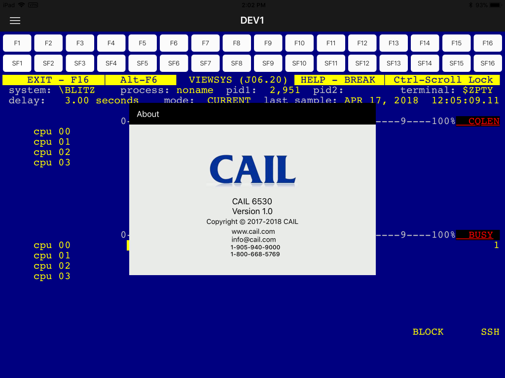 CAIL 6530 Android App