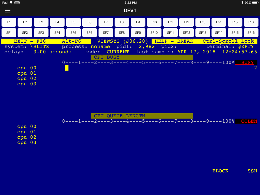 CAIL 6530 Android App screen shot